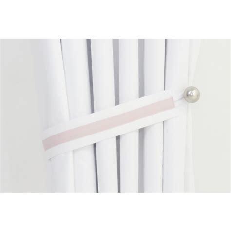 grey polka dot and pink nursery curtains