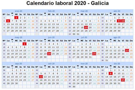 calendario laboral en galicia vigopeques