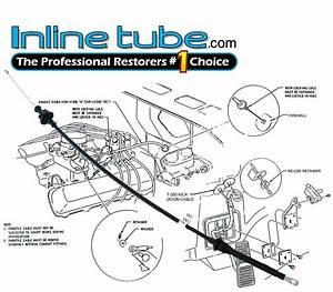 1970 1971 1972 Nosr 442 Cutlass Throttle Cable 70 71 72