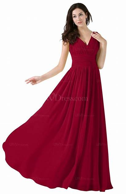 Dresses Dark Party Elegant Floor Length Line