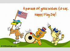 Happy Flag Day! Free Flag Day eCards, Greeting Cards 123