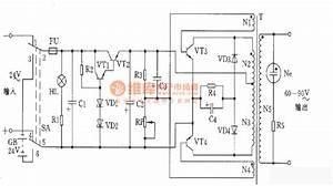 Transistor Ringing Current Generator - Signal Processing - Circuit Diagram