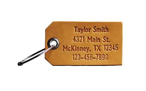 The Best Personalized Luggage Tags Travel Leisure
