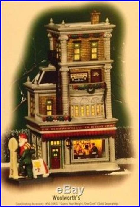 department 56 in the city retired retired department 56 in the city woolworth s