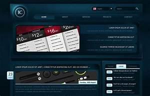42 Free High Quality Psd Web Design Templates