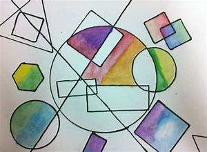 artisan des arts: Geometric Overlapping Shapes