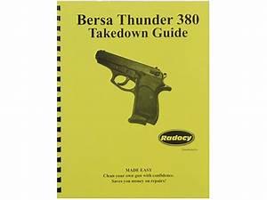 Radocy Takedown Guide Bersa Thunder 380
