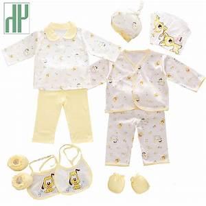 HH 100% cotton 18pcs/set New born baby boy clothes 0 3 ...
