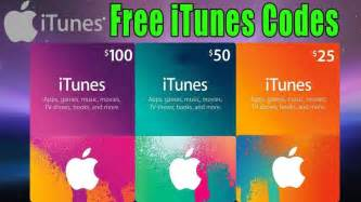 gift card codes itunes