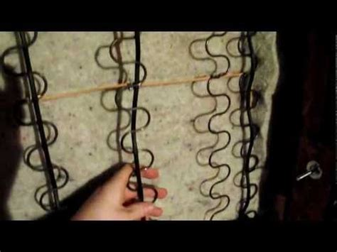 How To Fix A Sagging Springs by How To Repair Sagging Springs For The Home