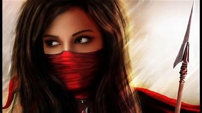 Fantasy Warrior Desktop Female Digital Wallpapers Screensavers