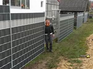 Sichtschutz Für Metallzaun : 05245820180120 sichtschutzzaun auf mauer montieren inspiration sch ner garten f r die ~ Whattoseeinmadrid.com Haus und Dekorationen