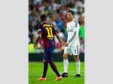 Neymar Photos Real Madrid CF v FC Barcelona La Liga