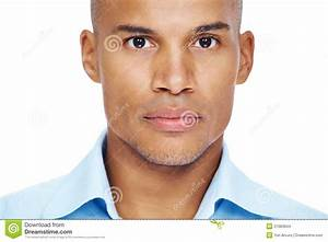 Stock Images: Young african american man face. Image: 21083844