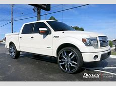 Ford F150 with 26in Lexani Arte Wheels exclusively from