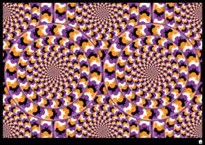 Optical Illusions with Movement
