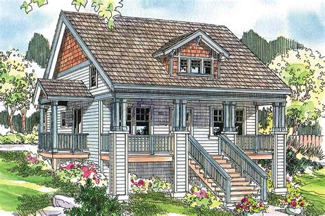 Bungalow House Plans  Fillmore 30589  Associated Designs