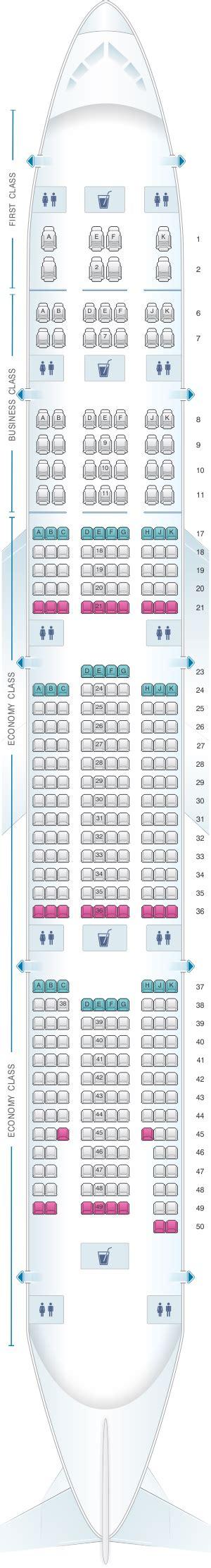 plan si es boeing 777 300er air plan de cabine emirates boeing b777 300er three class
