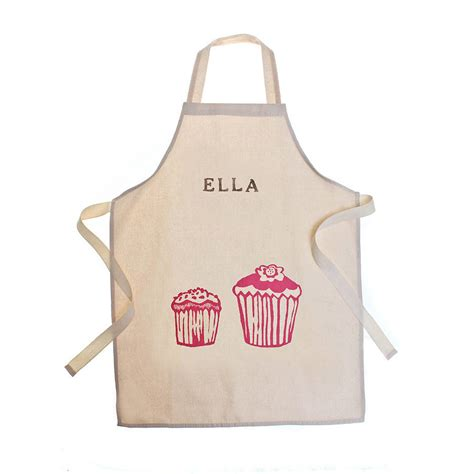 what is an apron printed children 39 s personalised aprons by 3 blonde bears