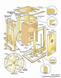 floor cabinet woodworking plans - WoodShop Plans