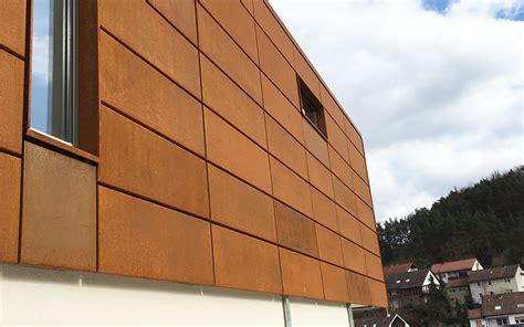Cortenstahl Fassade Befestigung by Corten Stahl Fassade Home Ideen