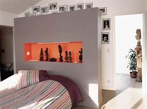 Dressing Derrière Tete De Lit : la chambre parentales agencement installation d 39 un ~ Premium-room.com Idées de Décoration