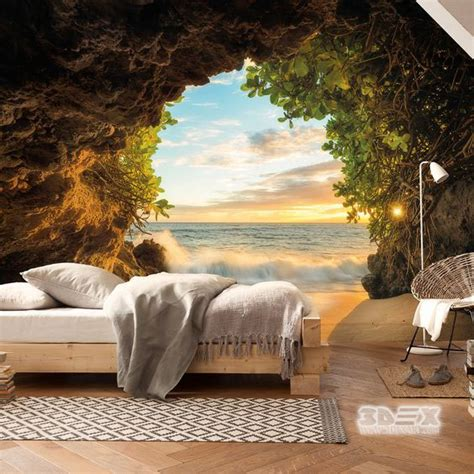 Bedroom Design Ideas Nature by 40 Stylish 3d Wallpaper For Living Room Walls 3d Wall Murals