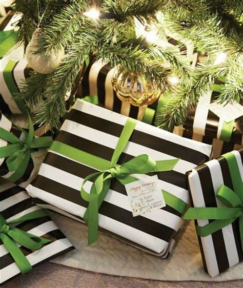 gift wrapping chic ideas
