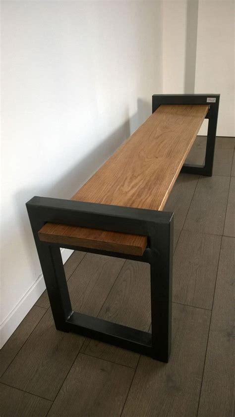 Banc Industriel Design  Wood & Metal Industrial Bench