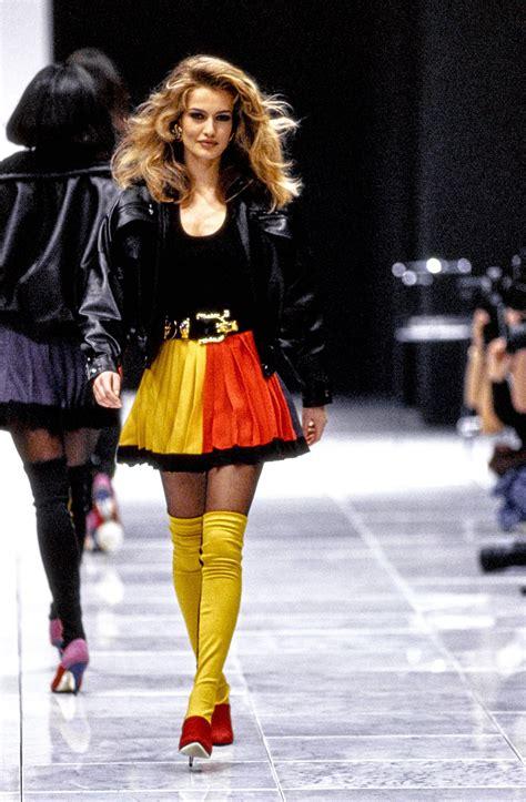 versace fall  ready  wear fashion show versace