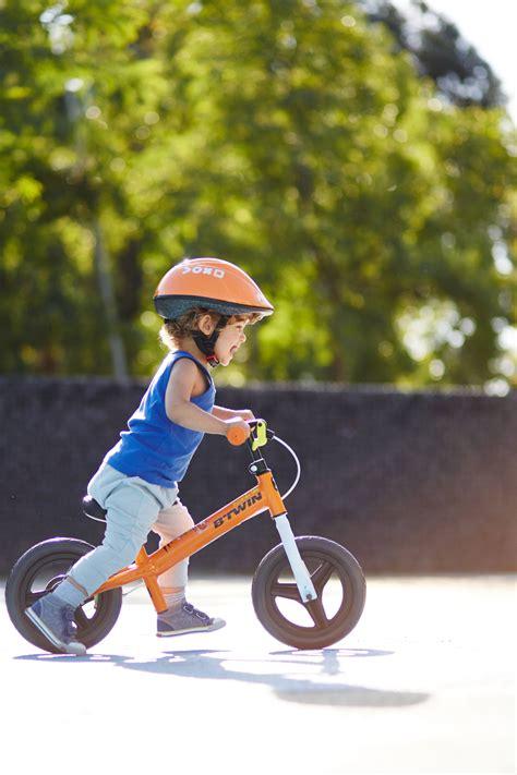 Btwin Run Ride 500 Kids' 10-Inch Balance Bike - Orange ...