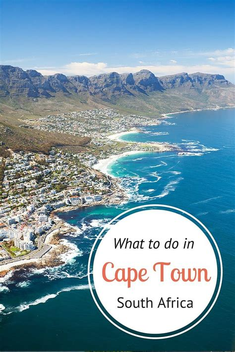 7 Ways To Explore Cape Town South Africa Things To Do