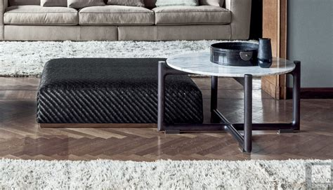 Great deal furniture avalon espresso brown leather ottoman coffee table. woven leather cube coffee table flexform mood - Google Search in 2020 | Coffee table, Cube ...