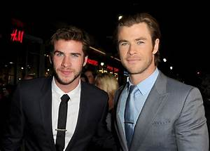 Liam Hemsworth Says Brother Chris Paid off all Their ...