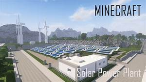 Solar Power Plant And Wind Turbines