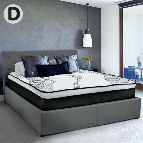 Bed Frame With Fabric Headboard by Buy Fabric Gas Lift Bed Frame With Headboard