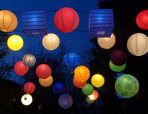 come fare lanterne volanti catena di ladine serie bianche o colorate da 25w o led