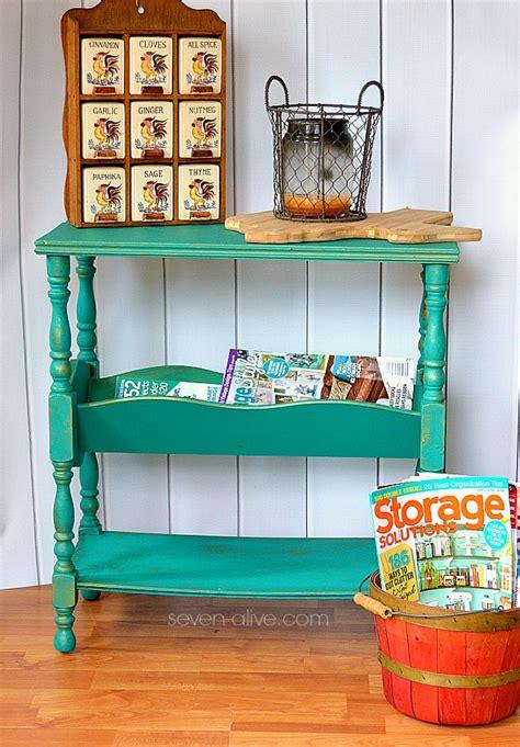 hometalk update  vintage magazine rack