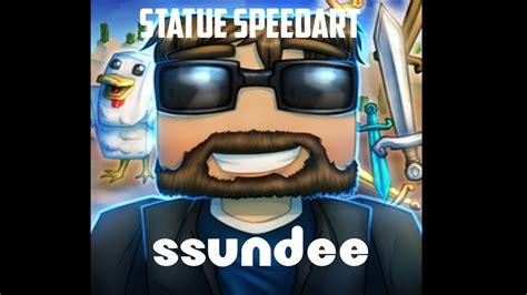 minecraft statue speedart ssundee  derp ssundee