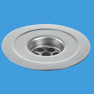 Mcalpine Stainless Steel 113mm Reducing Sink Flange