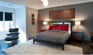 Red Black Grey White Bedroom by Polished Passion 19 Dashing Bedrooms In Red And Gray