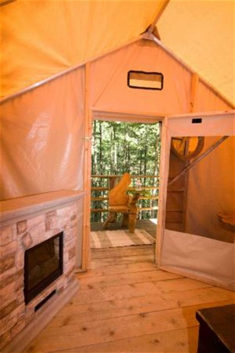 tent with fireplace interior of safari tent with electric fireplace upscale