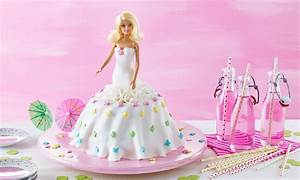 Barbie® Kuchen Rezept Dr Oetker