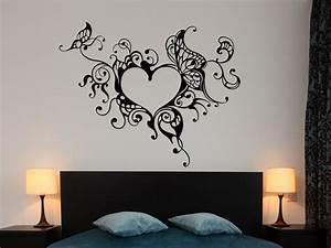 Tattoos Für Die Wand : wandtattoo verschn rkeltest herzornament wandtattoos herz ~ Articles-book.com Haus und Dekorationen