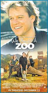 Sunny's Say-So: A Movie(ng) Afternoon: We Bought A Zoo