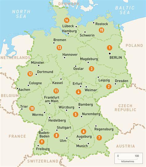 Karte Italien Deutschland