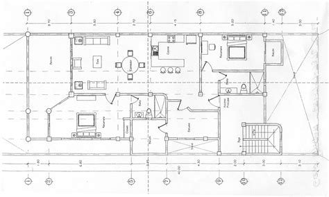 2 Super Tiny Home Designs Under 30 Square Meters (Includes Floor Plans) : Floor Plan With Dimensions In Metre