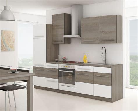 Küche Milo 280cm Küchenzeile / Küchenblock Variabel