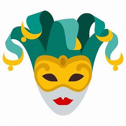 Mask Carnival Clipart Theatre Transparent Carnaval Venice