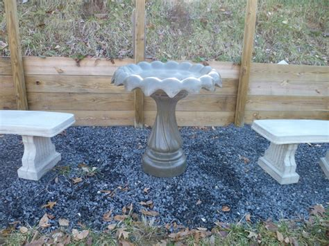 concrete bird bath top bird cages